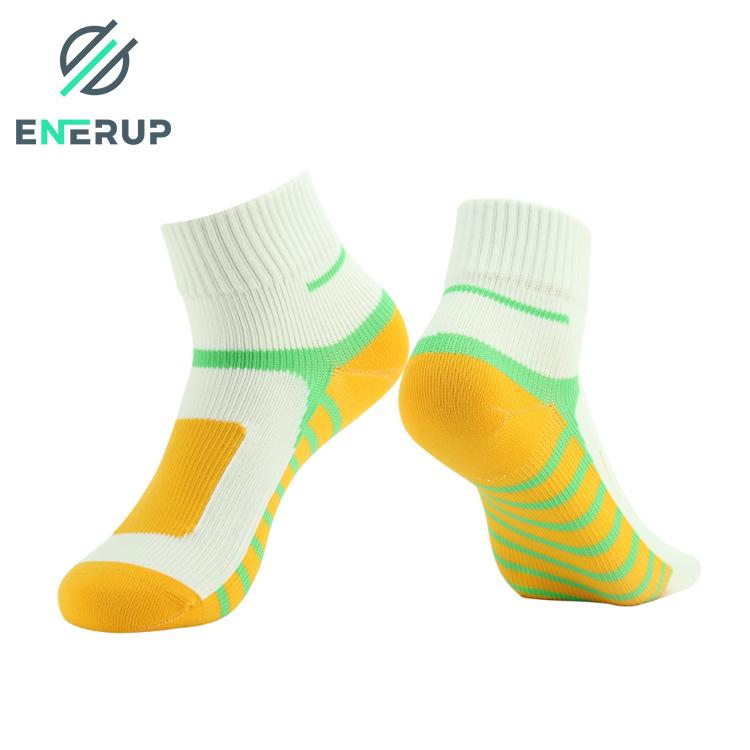 Enerup Wholesale Barre Short Women Kids Sports Cycling Hiking Custom Customised Breathable Waterproof Socks for Mens