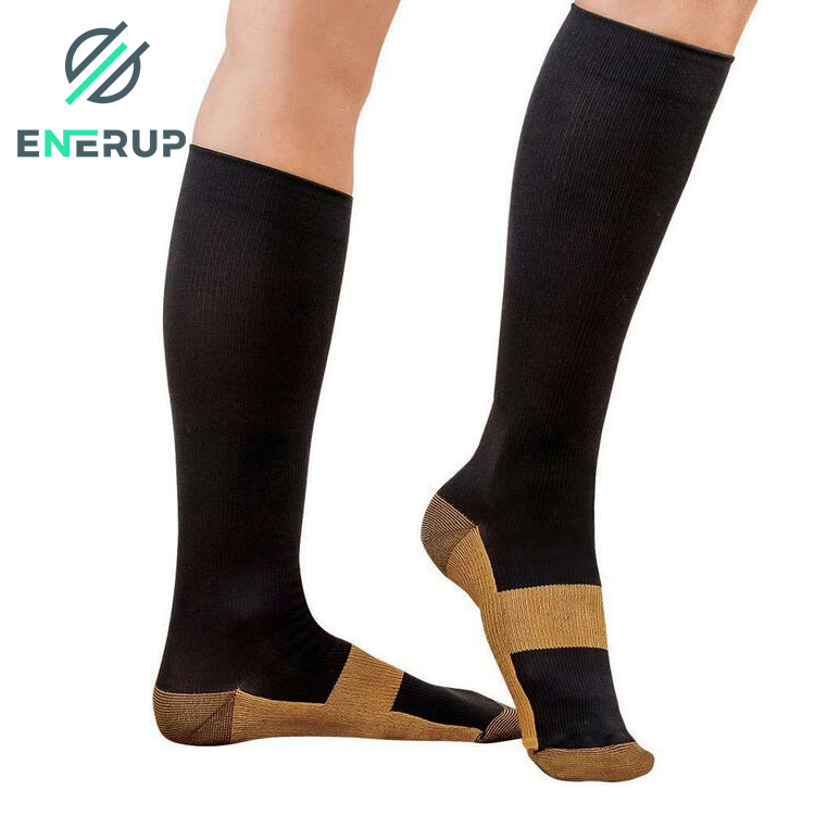Enerup New Unisex For Runners Slimming Merino Wolle Physix Kitchen Socks Compression 20-30 Mmhg Stockings Pressure