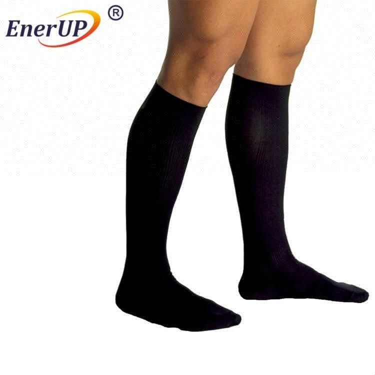 Sport running knee high copper compression socks
