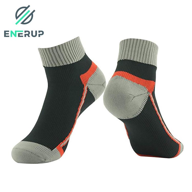 Enerup Kids Short Sports Hiking Oem Kaus Kaki Wholesale Custom Women Mens Print Waterproof Breathable Socks