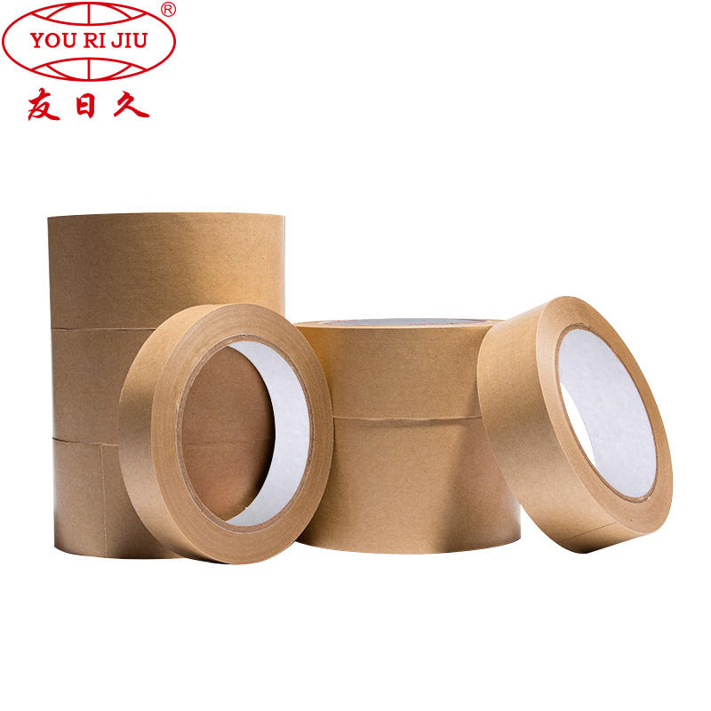 Kraft Tape,rubber base,logo printed kraft paper packing tape