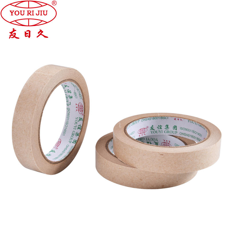 self adhesive kraft paper tape writable and unwritable surface