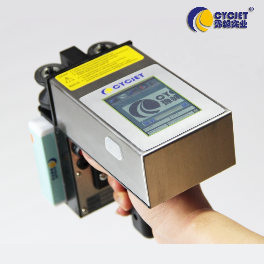 CYCJET ALT360 Rechargeable Handheld Inkjet Printer/Print Logo On Flat Glass Wall