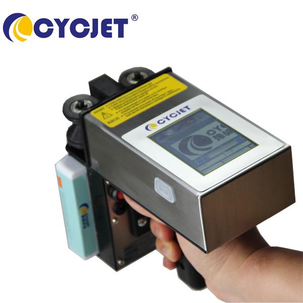 CYCJET ALT360 Handheld Inkjet Printer/Industrial Portable Printer for Pipe Wood
