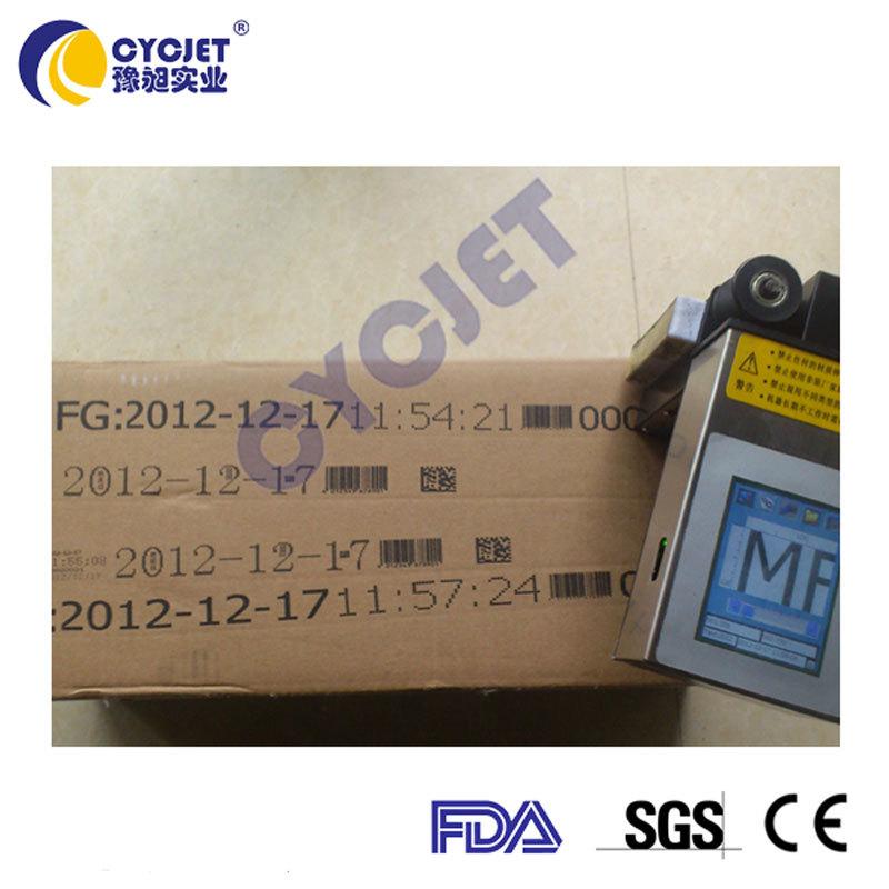 Hot CYCJET ALT360 Carton Expiry Date Coding Inkjet Hand Printer