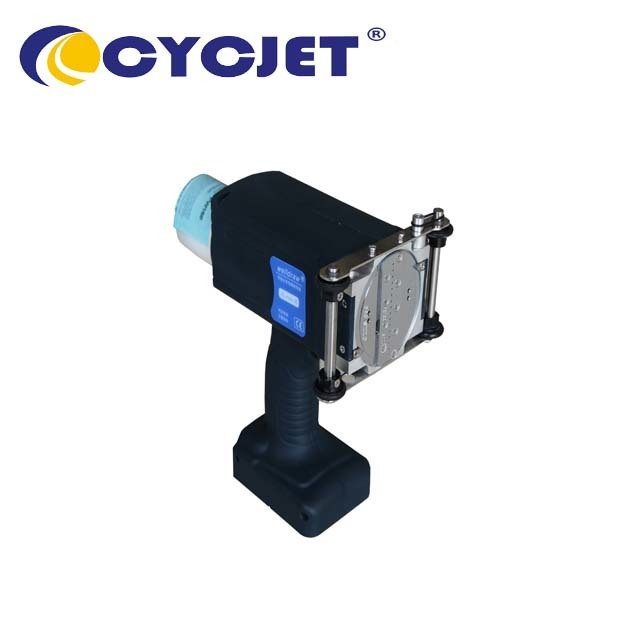 CYCJET ALT160Plus Large Character Handheld Inkjet Printer for Rubber Tubing and Wooden Case Inkjet Printing