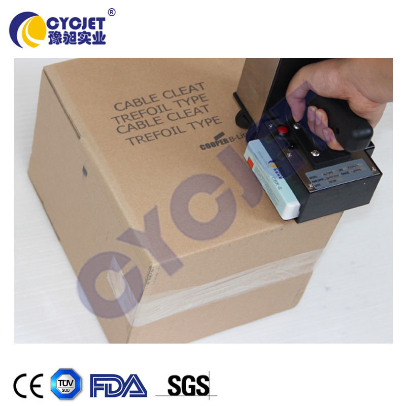 CYCJET ALT360 Handheld Wireless Inkjet Printer/Expiry Date Bar Coding Machine For Shipper/Carton Coder Machine