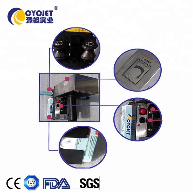 CYCJET ALT360 multi-funtional small character hand jet coding machine