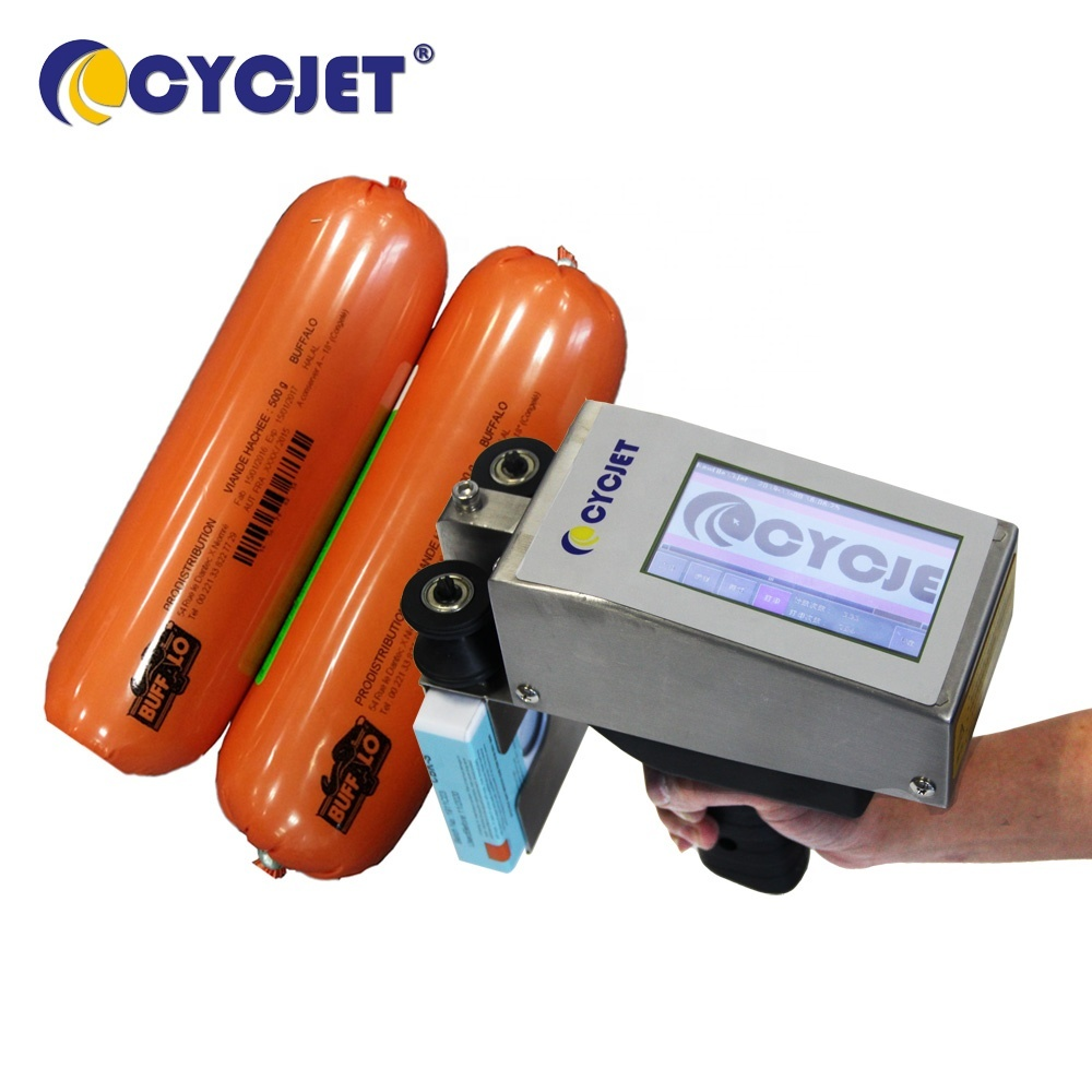 CYCJET ALT360 Hand-Held Printing Machine for Corrugated Carton Box Package Inkjet printing Shipping Mark Printer