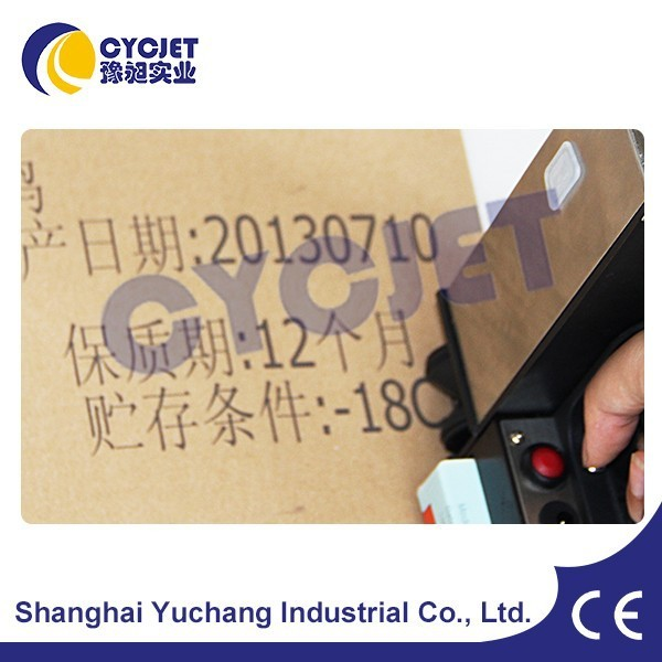Handheld Batch Code Printer of CYCJET/Handheld Inkjet Printer