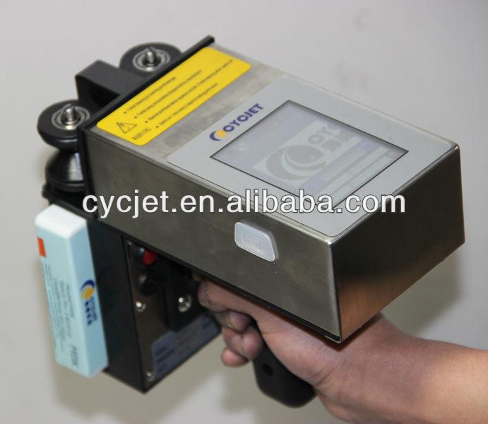 QR Code hand printer_White Barcode Printer_handjet printer