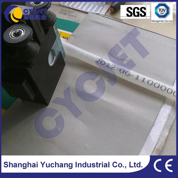 CYCJET ALT360 Inkjt Hand Held Marker/Corrugated Steel Pipe Machine/Mobile Jet Stamp
