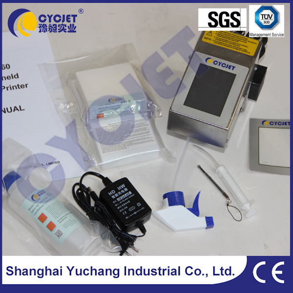 CYCJET ALT360 Portable Hand Held Ink Jet/Batch Coding And Marking Machine On Cable And Wire