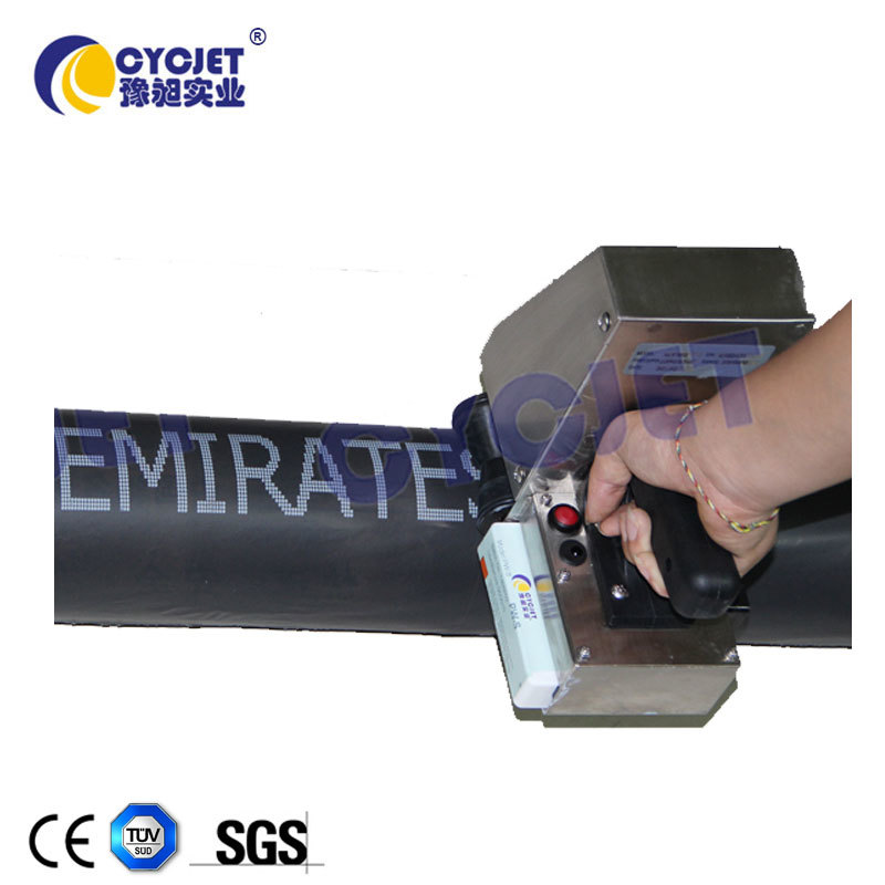 CYCJET Portable Inkjet Printer Coding Machine on Egg Tray/Glass