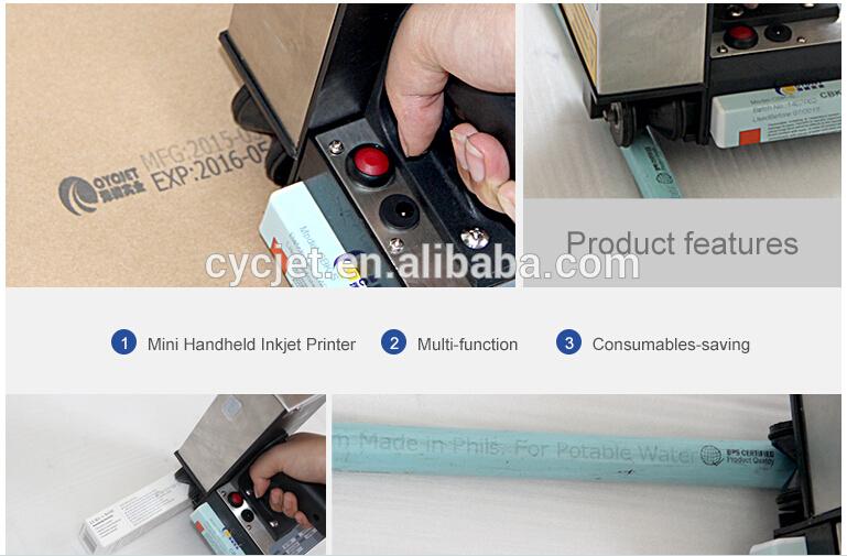 CYCJET PVC Pipe Inkjet Printer_handheld inkjet printer for pipe