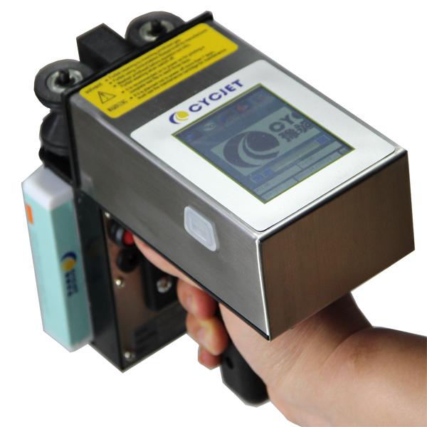 CYCJET Hand Jet Printing Coder for carton printing solution