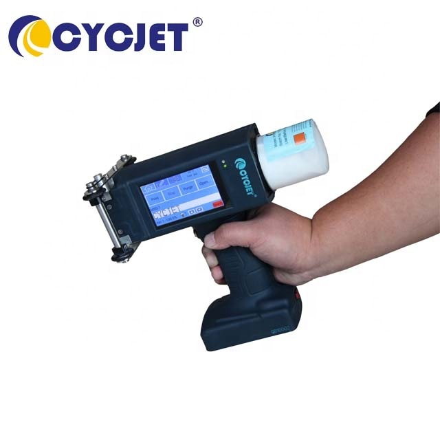 CYCJET ALT160Plus Large Character Handheld Inkjet Printer for Steel Pipes Sheets Industrial Inkjet Printing