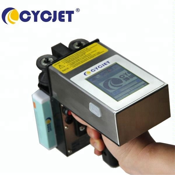 CYCJET handheld Inkjet Coding Printer/Automatic Date Code Printer/handheld batch printer