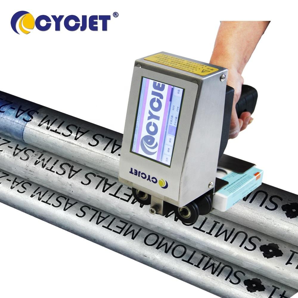 CYCJET Portable Jet Printer for Steel Tube Hand Marking