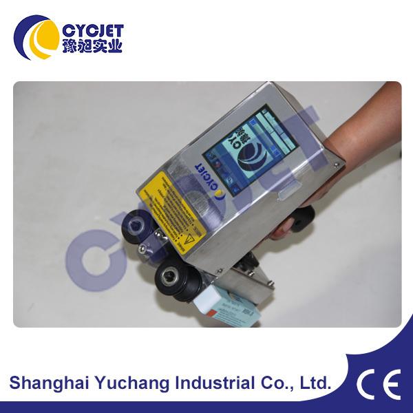 CYCJET Batch Date Jet Printer/Manual Bottle Screen Printing Machine/Handjet Portable Printer