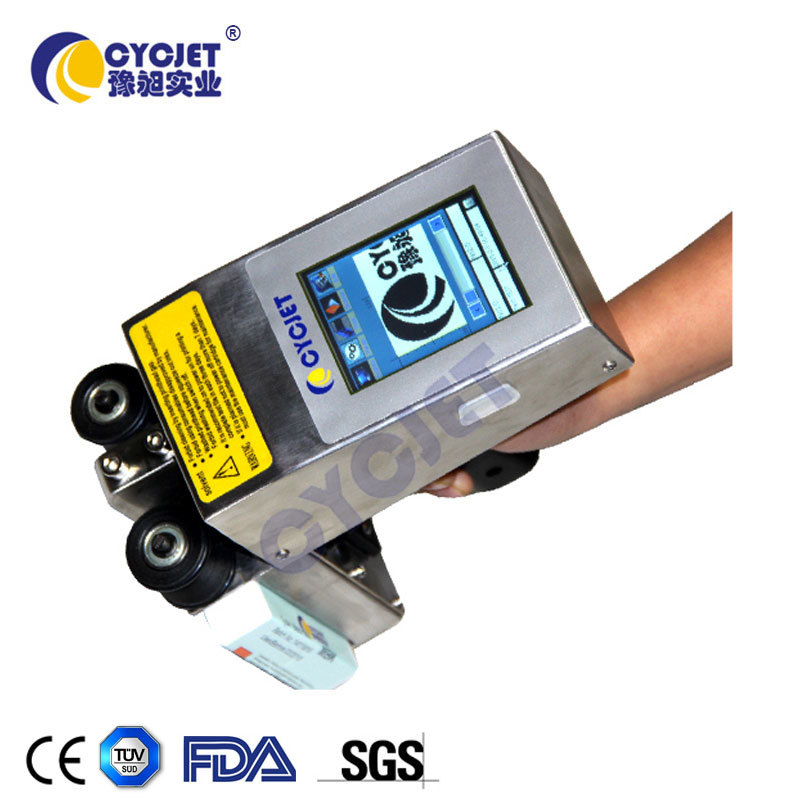 CYCJET ALT360 Portable Handheld Coder/Metal Hand Stamp/Inkjet Date Coder