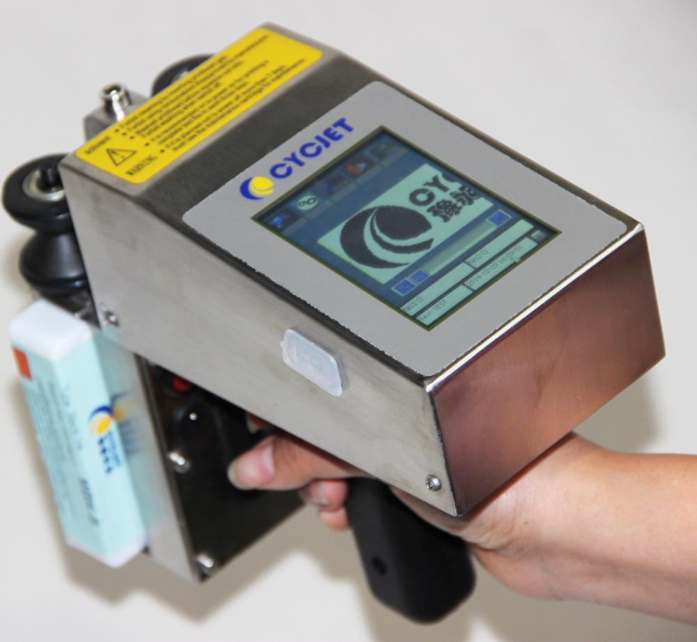 CYCJET Handheld Ink Label Printing/Manual Date Coding Machine/Plastic Bag Printing Machine