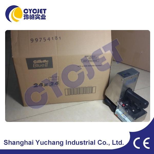 CYCJET ALT382 Logo Inkjet Printer/Small Label Printing Machine/Handheld Ink Jet
