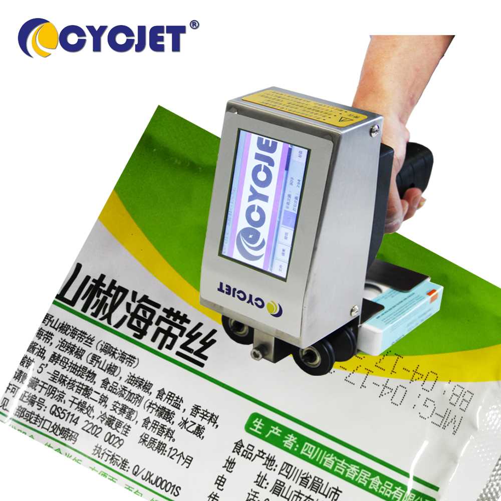CYCJET ALT360 Small Hand Inkjet Marking for Ballon