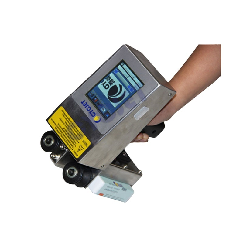 CYCJET Portable Handheld Stamping Machine/PVC Pipe Inkjet Coder