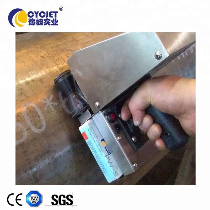 Steel Pipe Inkjet Marking Large Character