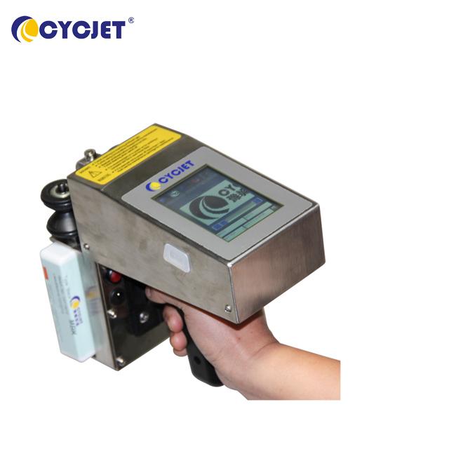 CYCJET ALT360 oil drum handheld inkjet coder/pipe coding machine/corrugated box inkjet printer