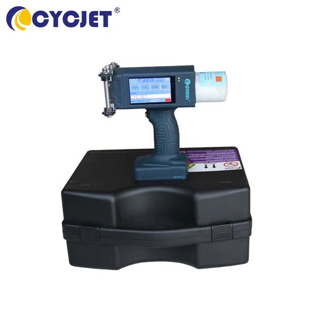CYCJET ALT160Plus Large Character Handheld Inkjet Printer for Wooden Case and Steel Pipes Inkjet Printing