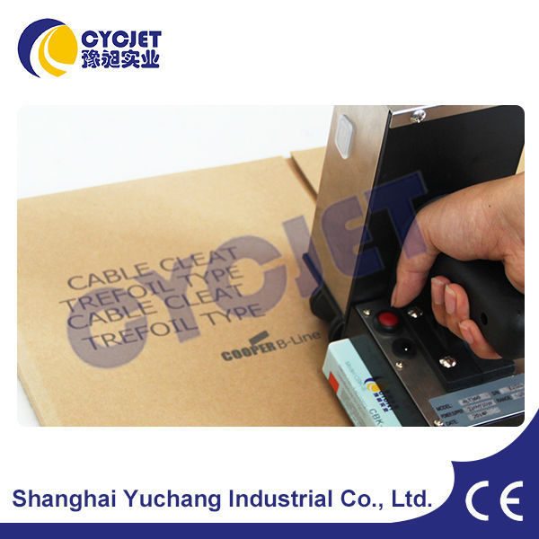CYCJET ALT360 Hand Jet Metal Plate Inkjet Printer for Picture and Logo Printing