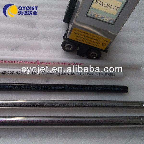 PVC Pipe Ink Jet Printer/Handheld PVC printer