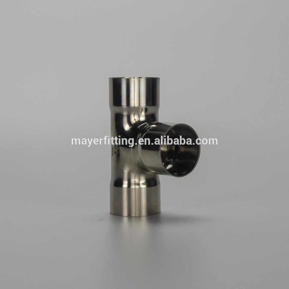 SS304/316L Industrial Stainless Steel Welded Long Radius/Short Radius Reducing Tee
