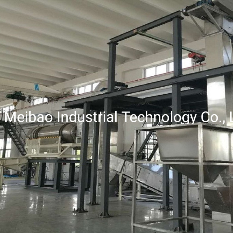 Low Investment Detergent Base Powder Post Blending Line with Mixer
