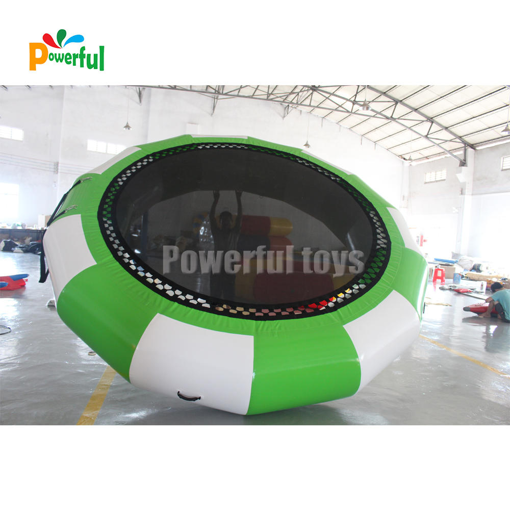 Floatingplatforms inflatable water trampoline for waterpark equipment