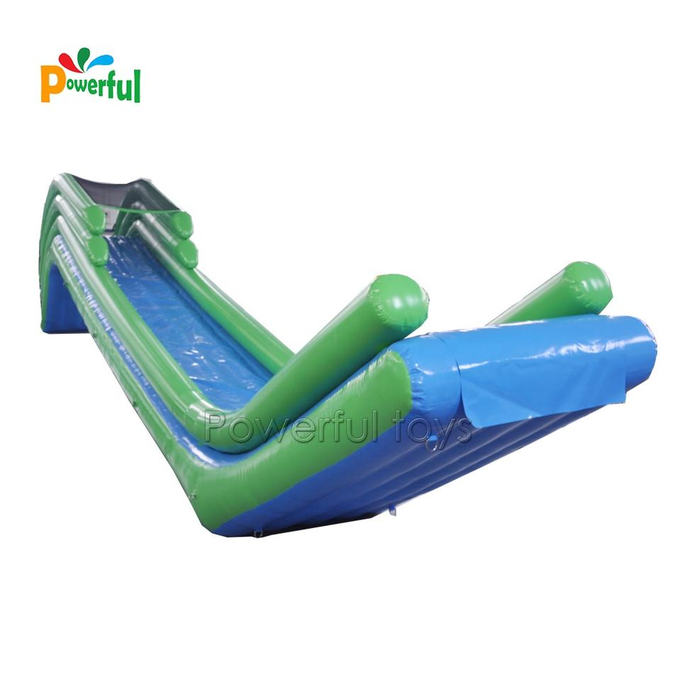 Superyacht water toys inflatable floating water slide for yacht