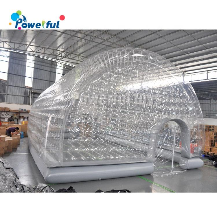 Inflatable Tunnel Dome Tent Cover Airtight Waterproof Swimming Pool Tent Inflatable Bubble Tent
