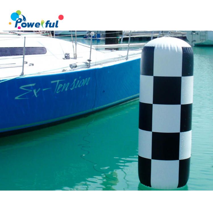 Custom printing inflatable swim marker buoy for water race