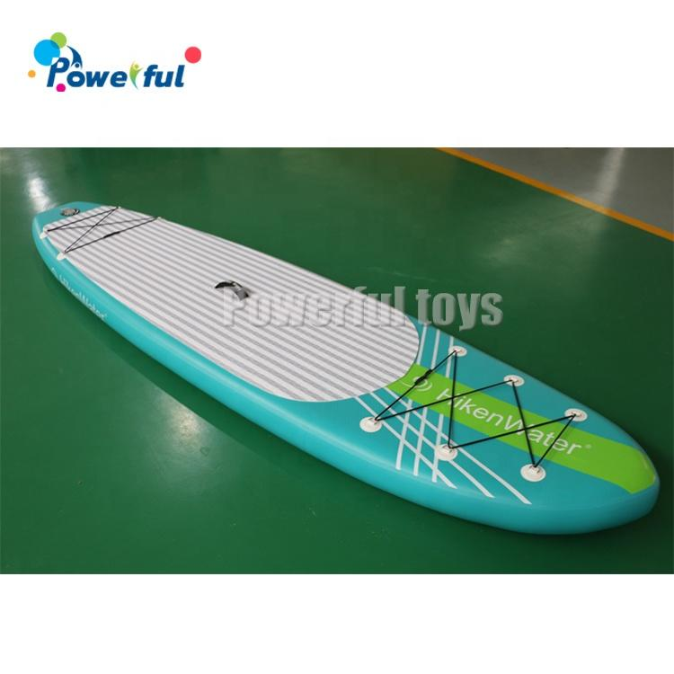 Colorful 3m inflatable standing surfboard paddle boat