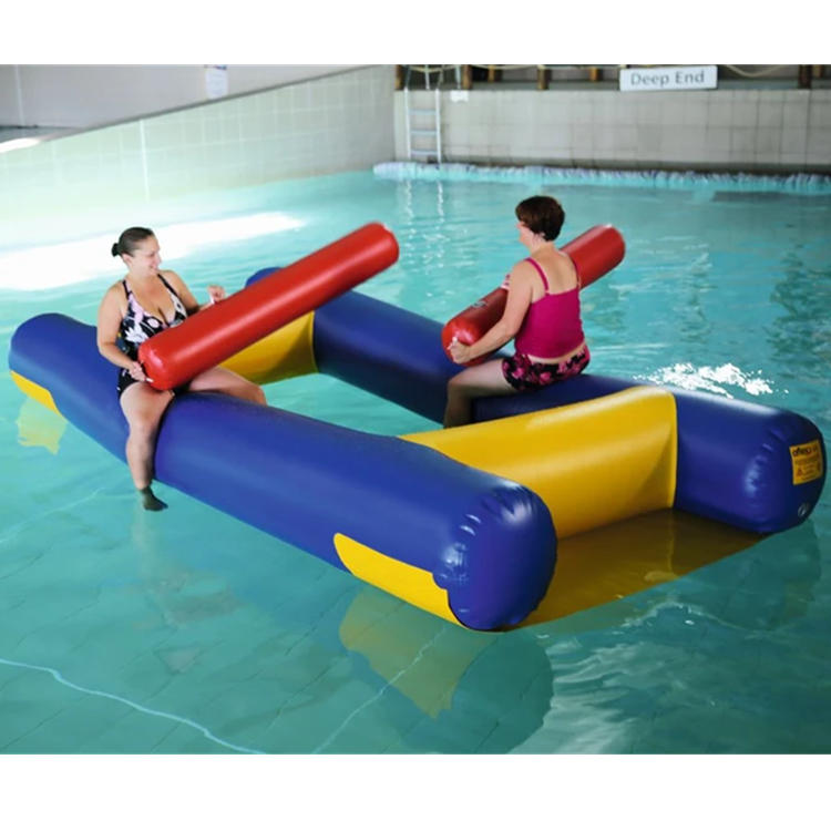 water game inflatable floating fight sport game for adults