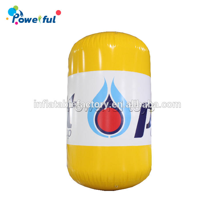 Advertising inflatable water float buoys Air sealed buoys floating rolling ball for sale