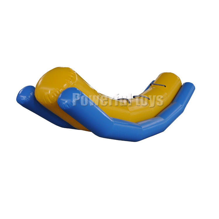 Water sport gameInflatable seesaw / water toys / inflatable floating single line totter seasaw