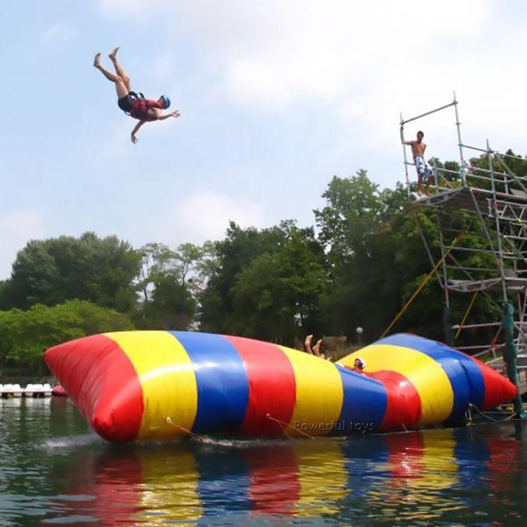 China factory price inflatable water blob jump for water park