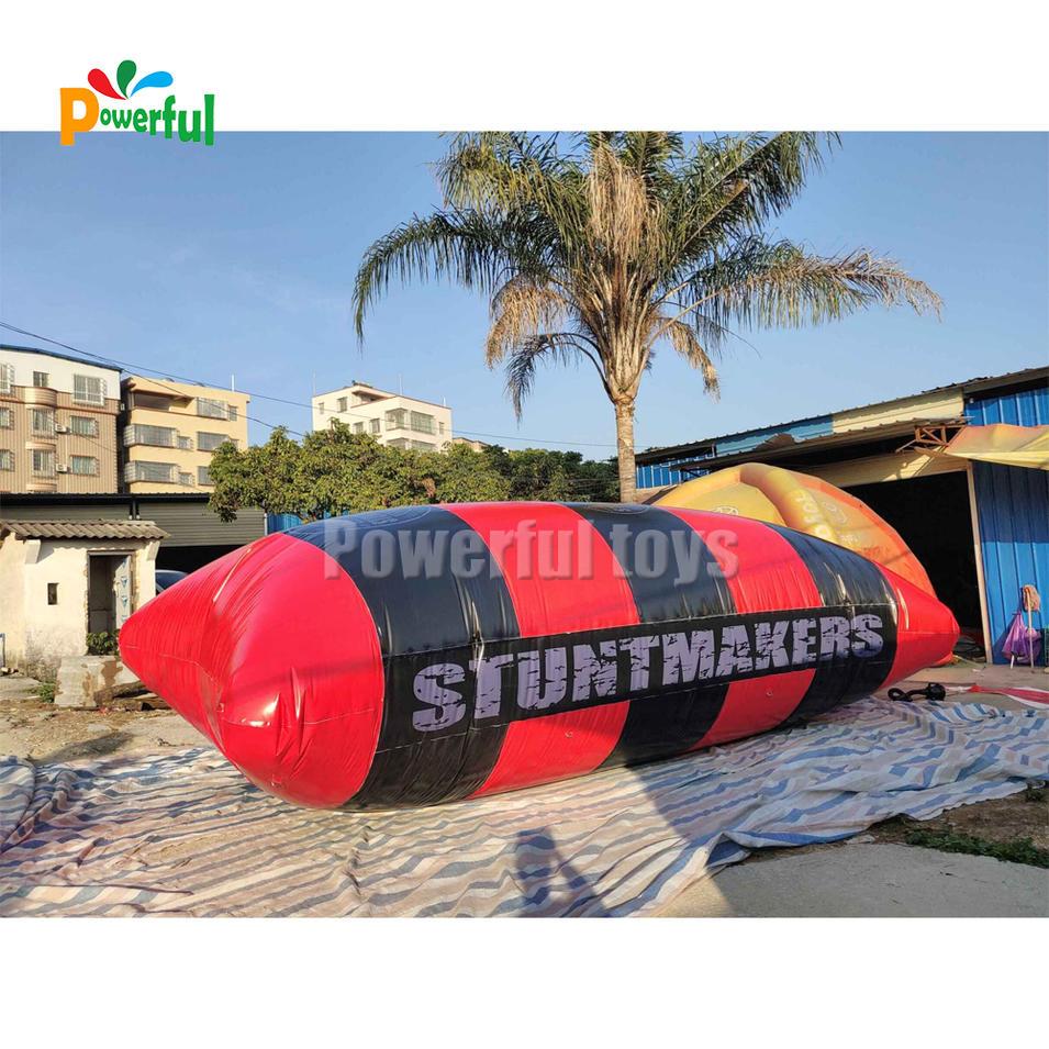 pvc tarpaulin Blob Jump pillow ,Inflatable Water Jumping Air Bag Blob For Sale