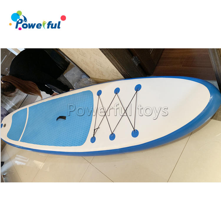 Kids inflatable standup surf board paddleboard for ocean sport