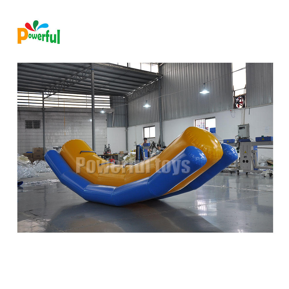Hot selling inflatable water seesaw game for water park