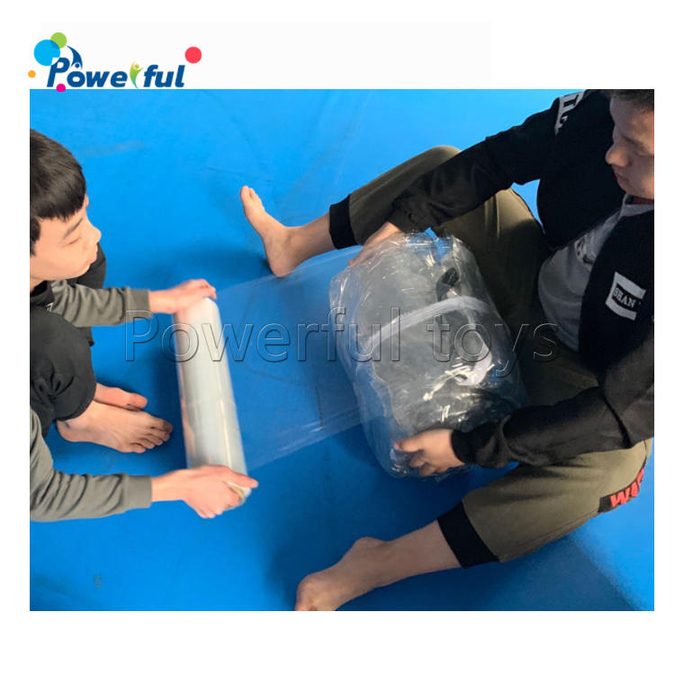 Resort Clear PVC inflatable Water Balls 2m Diameter Water Toys Ball For Rental