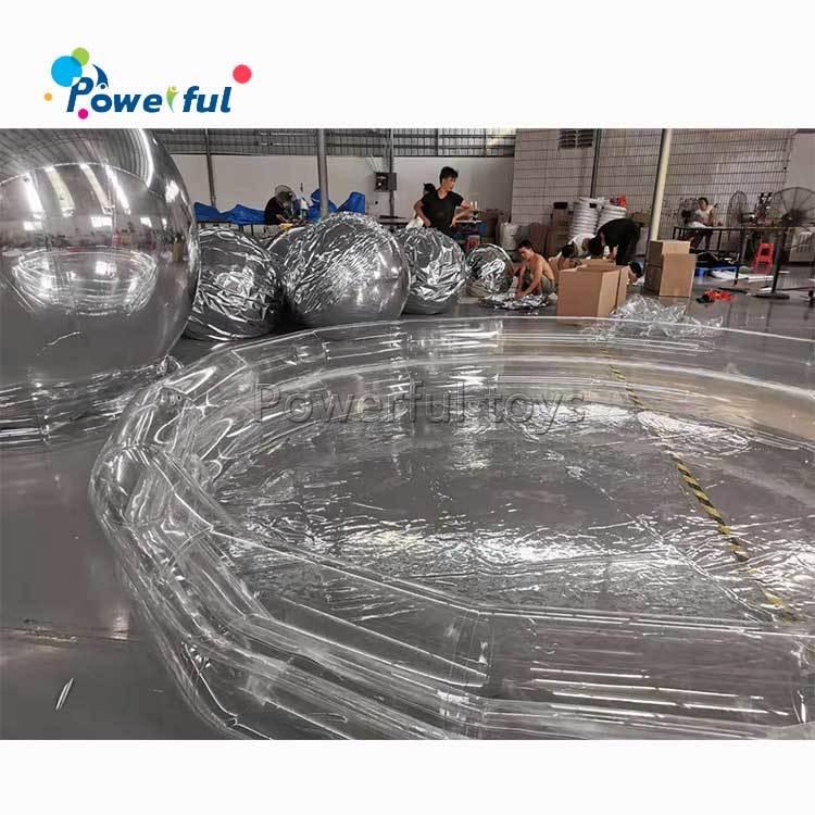 inflatable water park swimming bog pool, portable kids big water pool